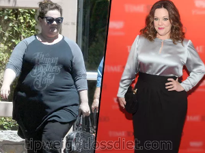 MELISSA MCCARTHY WEIGHT LOSS