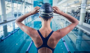 Swimming workouts and Exercises for Weight Loss with before and after results.